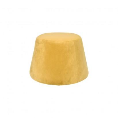 YPOS lot 2 chaises En Velour 55.5x60xH83cm BEIGE