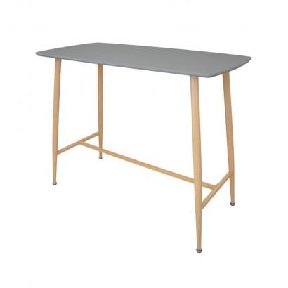 KLARY Table haute grise 4...