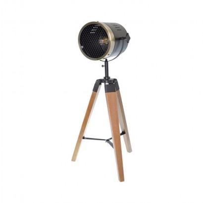 Lampe SPOT Marron 30x30xH65cm