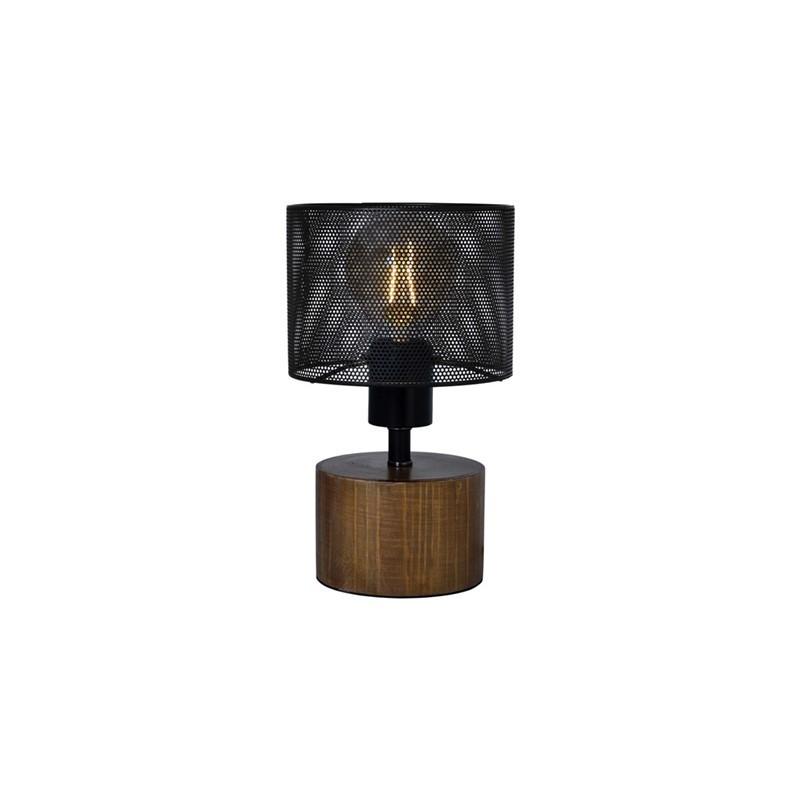 Lampe à poser en bois DIA16X25CM