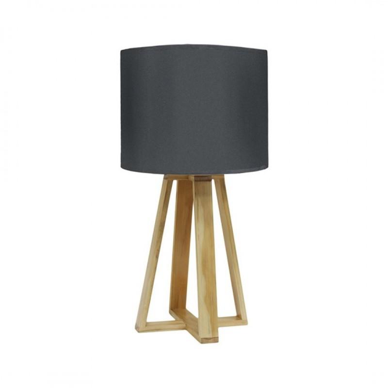 Lampe SCANDI D23xH48cm Antracite
