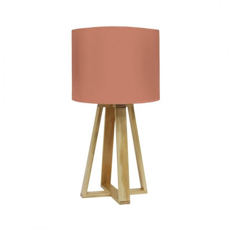 Lampe SCANDI D23xH48cm Rouille