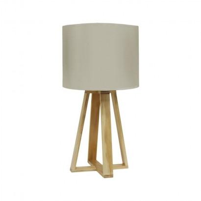 Lamp SCANDI D23xH48cm Beige