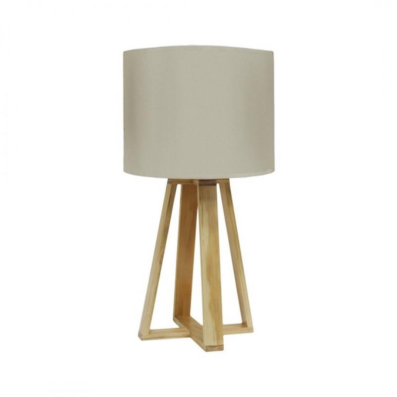 Lampe SCANDI D23xH48cm Beige