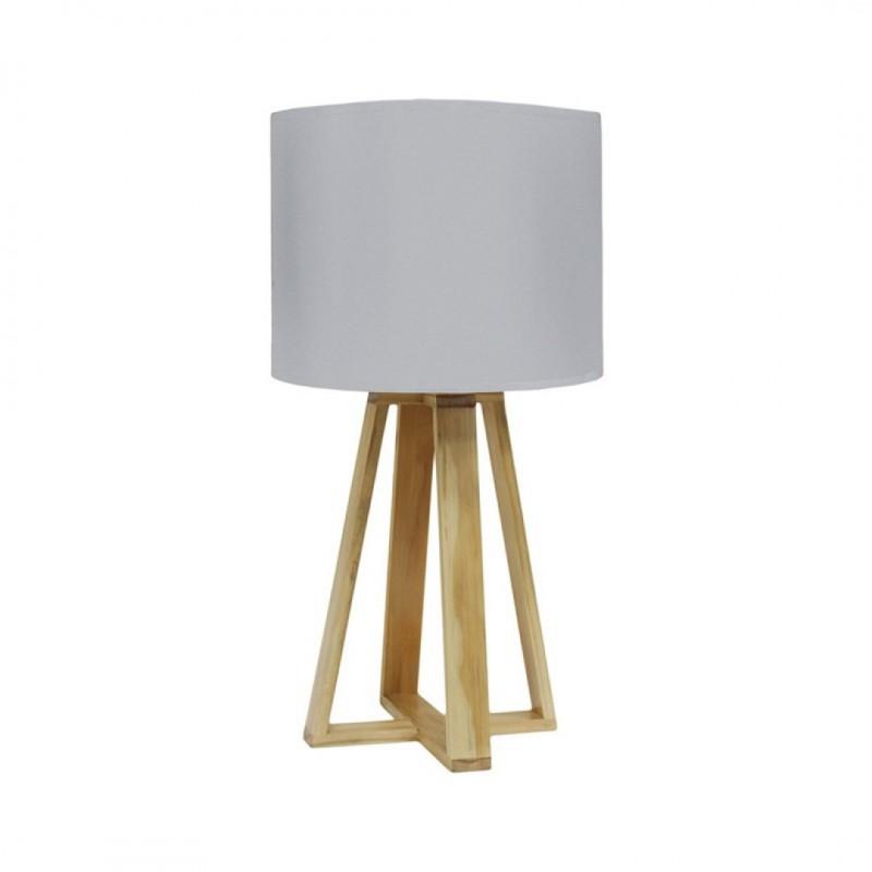 Lampe SCANDI D23xH48cm GrisLampe SCANDI D23xH48cm Gris