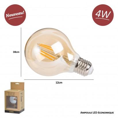 Ampoule LED Edison, Lampe Décorative Ampoules À Incandescence Rétro Edison Lampe 20 Pack [Classe Énergétique A+]