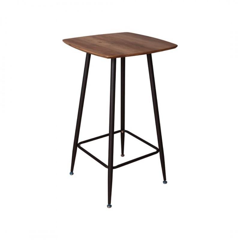 Blackus vierkante staande houten eettafel 60X60cm