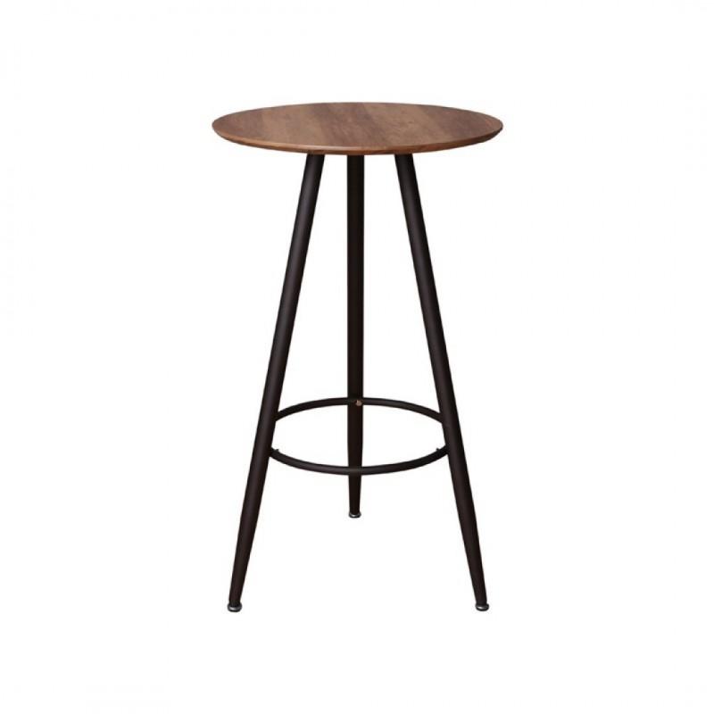Table Mange debout rond en bois
