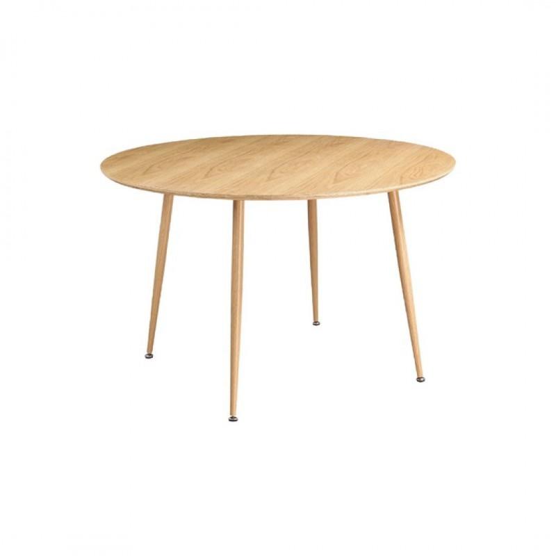 STOCKHOLM Table ronde de couleur naturelle