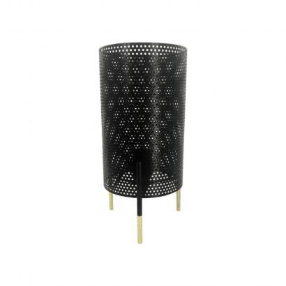 JORDA lampe métal Noir Laiton