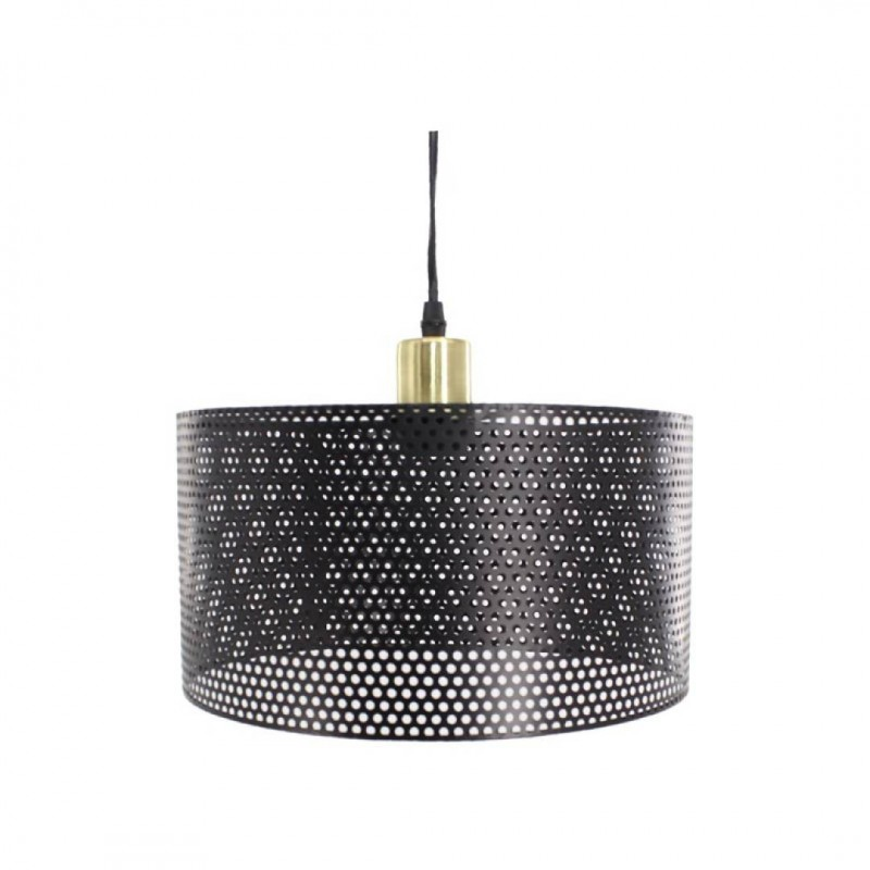 JORDA Metalen hanglamp B. 30 x D. 30 x D. 16 cm Messing