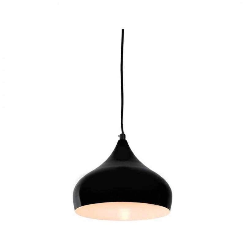 LOLLY Suspension métal Noir 22,5x22,5xH120cm