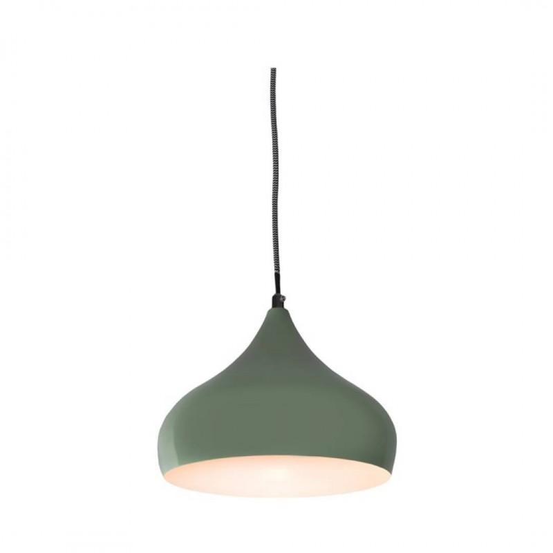 LOLLY Metalen Hanglamp GROEN 22,5x22,5xH120cm