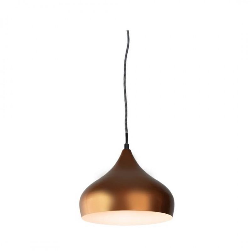 LOLLY Metalen Hanglamp COPPER 22,5x22,5xH120cm