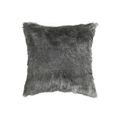 Cushion DOLLY GREY fur...