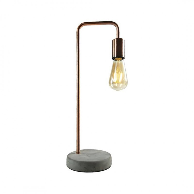 EDEN Lampe en métal + Ampoule LED
