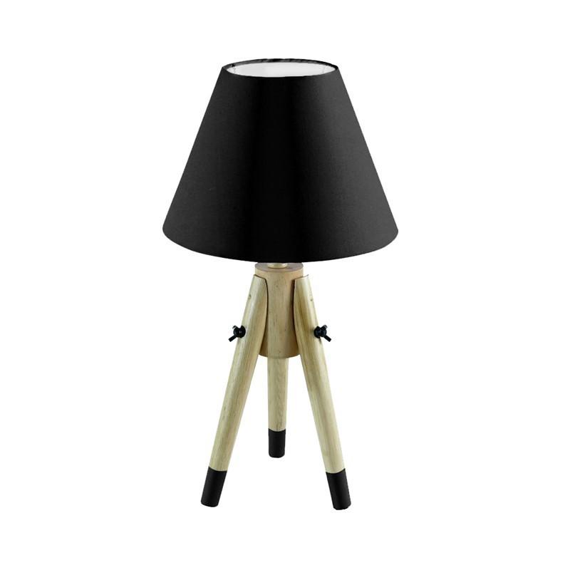 Lampe À Poser Scandinave 4 Couleurs H50cm BLACK
