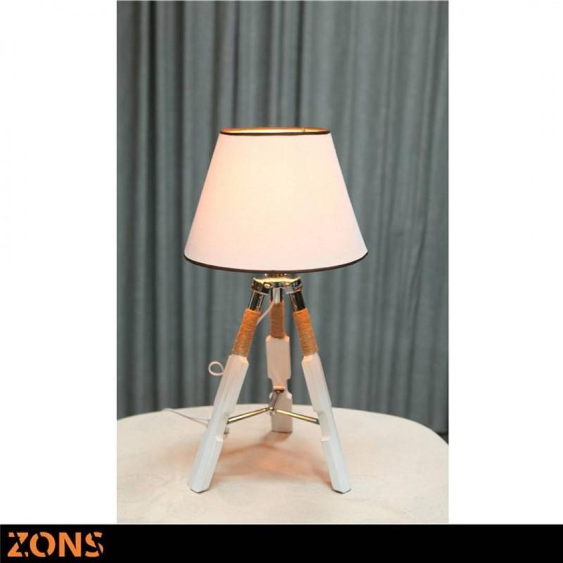 White Scandinavian Lamp
