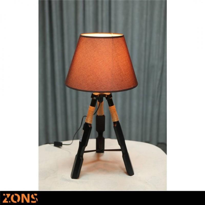 GRETA lot de 2 Lampes à poser Scandinave RAFIA ORANGE 35.5*35.5*H67