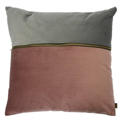 Coussin en velours PINK AND...