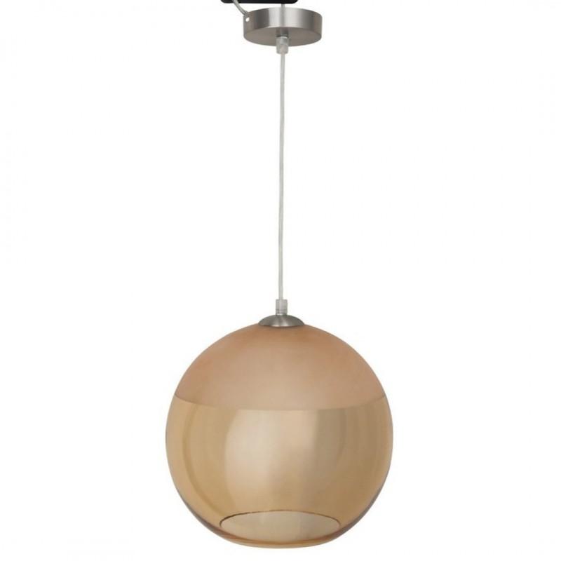 Hanglamp, e27 design Baloa verguld metaal 1 x 60 W INSPIRE