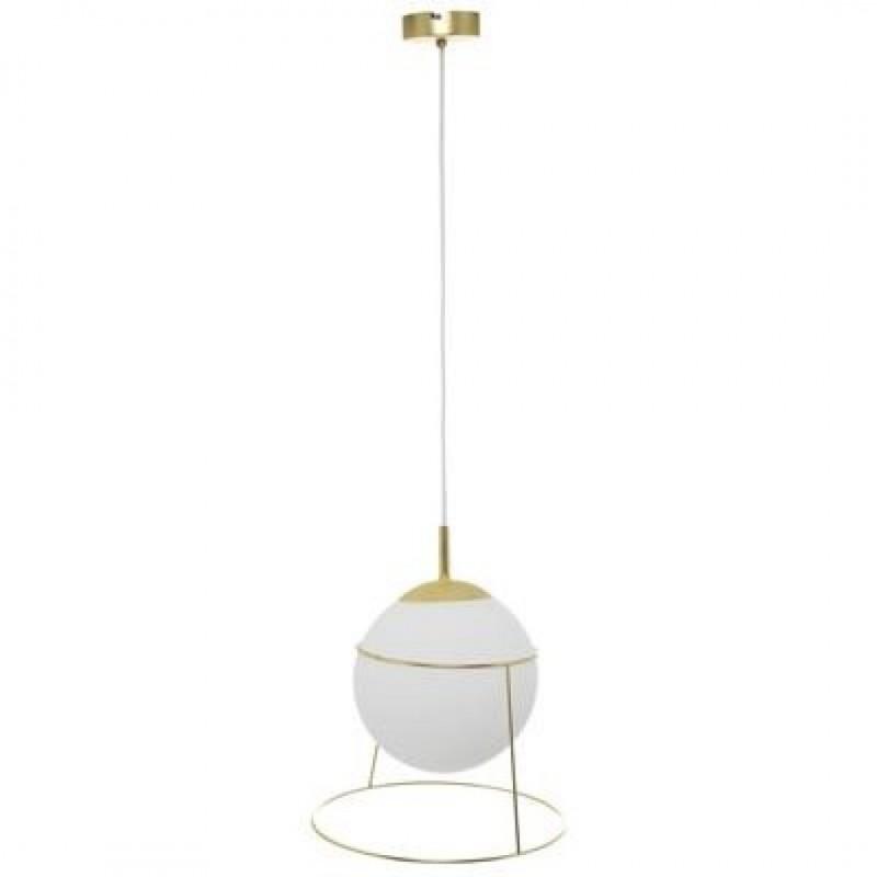 Hanger CELESTE in wit glas D34cm Merk Inspire