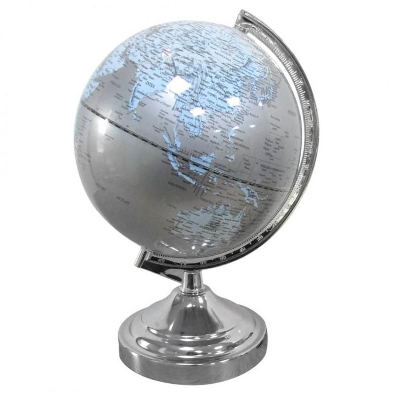 Lampe NAPOLÉON Globe lumineux Gris
