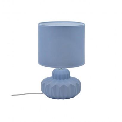 Lampe céramique Mat Bleu...