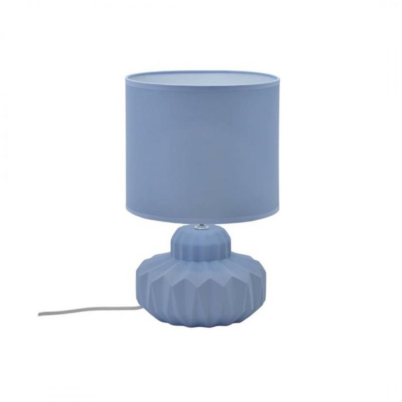 Lampe céramique Mat Bleu lavande