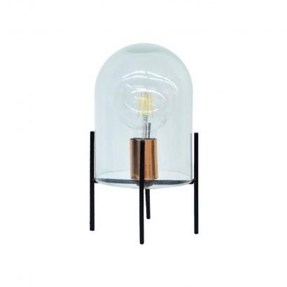 Glass bell lamp + Bulb...