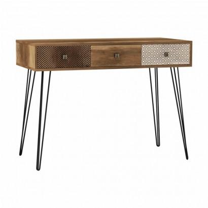 Console ELLA in wood 100x50cm