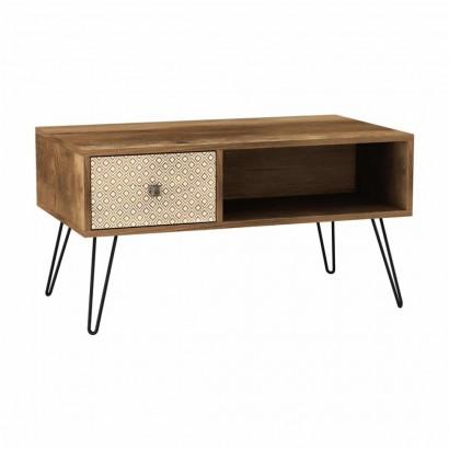 Coffee table ELLA in wood