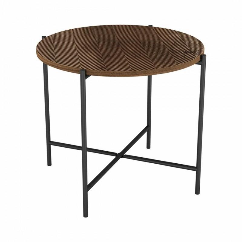 Table d'appoint ELLA en bois 50x50xH42cm