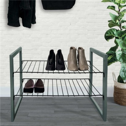 JUSTIN Shoe rack GREY
