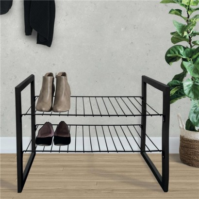 JUSTIN Shoe rack BLACK