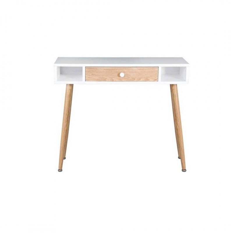 BERLIN Wooden console WHITE