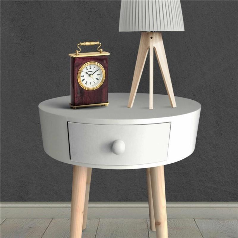Table d'appoint KAMILLE Blanc d38cm
