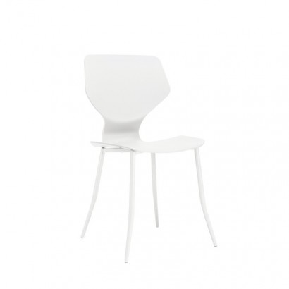 SHELLY Chair in WHITE Set of 2