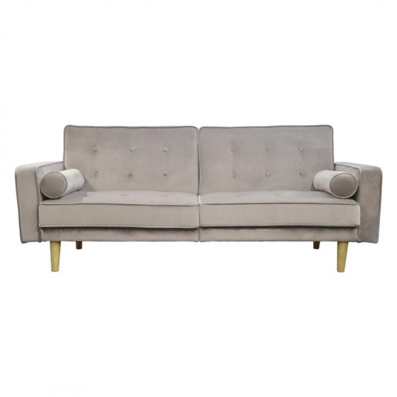 Nat Sofa Click Clack Convertible Velvet