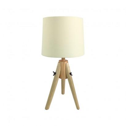 Lampe Scandi en bois Beige