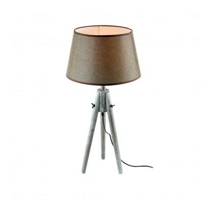 Lampe À Poser Scandinave  H65cm GRIS