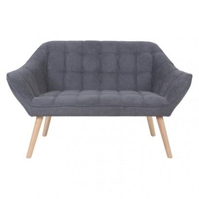 FELIZ couch suede L. 127 P. 75 x H. 76 cm