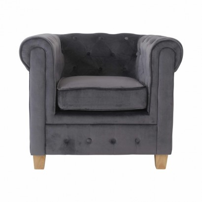 MANHATTAN Velvet Armchair