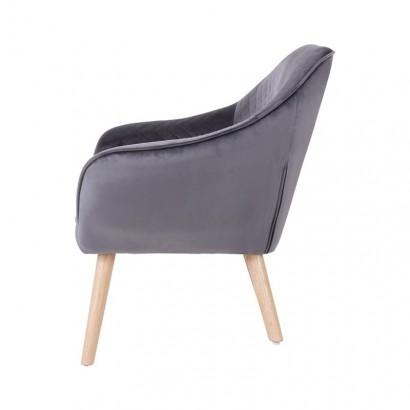 Velvet Armchair HESTER