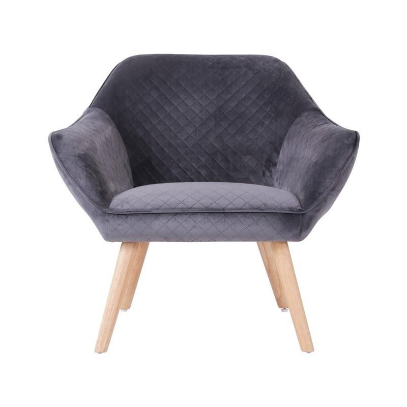 HESTER Velvet Armchair