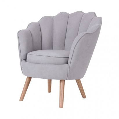 Suede Armchair THRONE