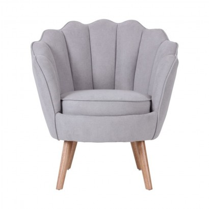 THRONE Suede Armchair
