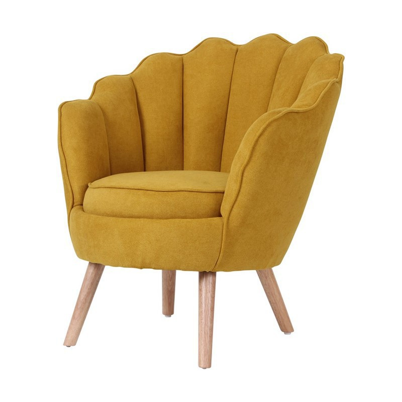 Fauteuil coquillage d'appoint Tendance