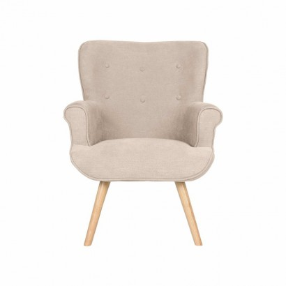 DANIO Fabric Armchair with...