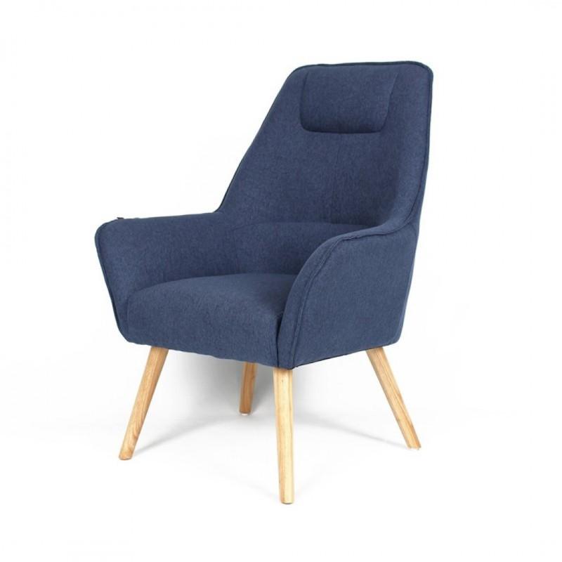 Copenhagen skandinavischen Sessel Color Swatches Copenhague Bleu